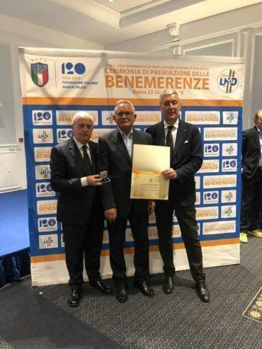 Diploma di Benemerenza a Franco Giansante