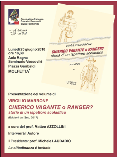 """Virgilio Marrone, Chierico vagante o ranger?"