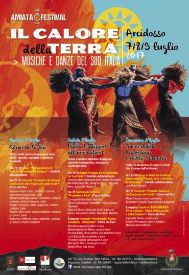 A Arcidosso (GR) musiche e danze del sud Italia