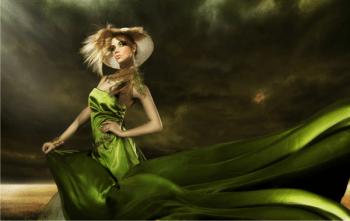 Fashion green … eppure soffia