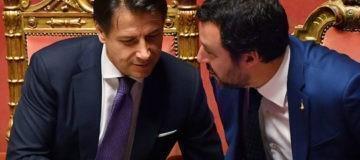 Conte in parlamento sul caso Lega-Russia
