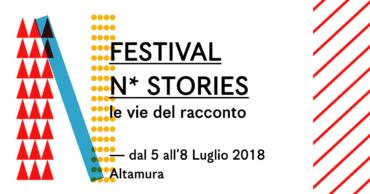 Il FestivalN-Stories –le vie del racconto