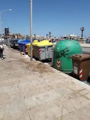 Disservizi Amiu al centro di Bari