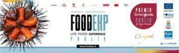 Foodexp 2018 e i vincitori del premio emergente Puglia