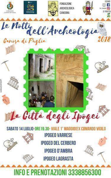 La città degli ipogei a Canosa di Puglia