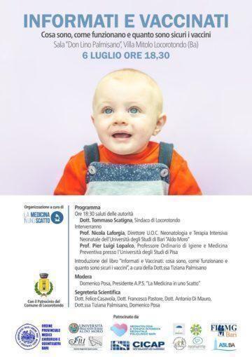 Informati e vaccinati incontro – dibattito