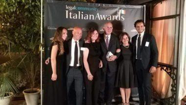 Polis avvocati premiato alla 'Italian Awards Legalcommunity'