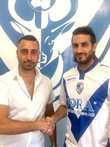 Daniele Fruci al SSD Brindisi FC