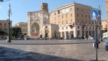 Open space di palazzo Carafa, piazza Sant'Oronzo Lecce