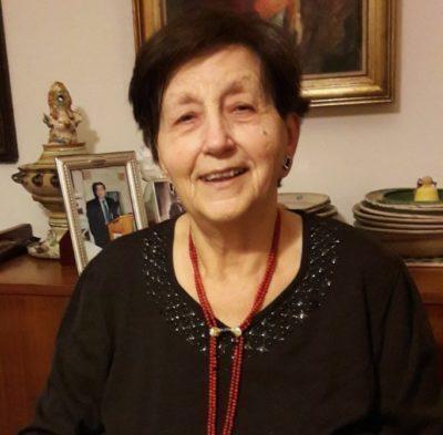 Cordoglio per la morte di Pina Belli D'Elia