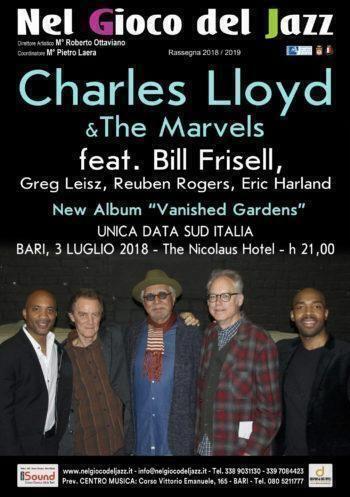 Le leggende del jazz in concerto unica tappa del sud Italia