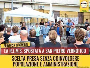 La REMS a San Pietro Vernotico