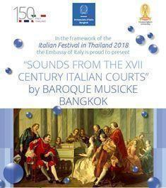 La musica barocca a Bangkok