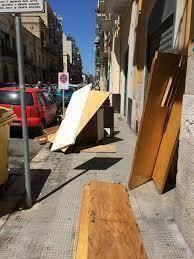 Abbandono e degrado presente nel Quartierino a Bari