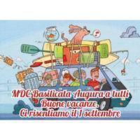 MDc Basilicata augura ai soci e amici buone vacanze
