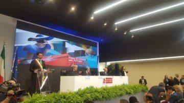 Cerimonia inaugurale 82^ Fiera del Levante: il discorso del sindaco Antonio Decaro