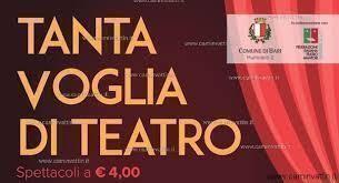 """""""Tanta voglia di teatro"""""""
