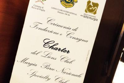 Nasce il Lions Club Murgia Parco Nazionale