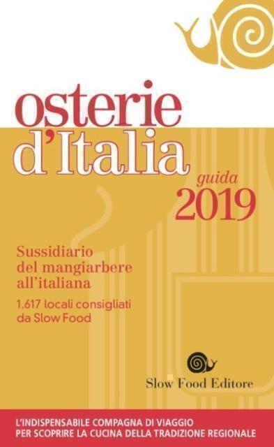 Tutti i riconoscimenti della guida Osterie d'Italia 2019 in Puglia