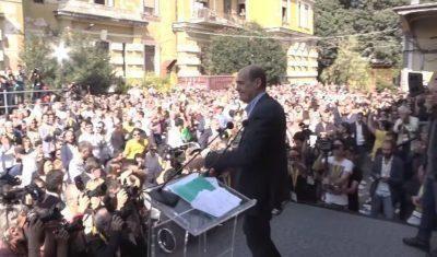 Zingaretti: la giustizia non si sostituisca alla politica