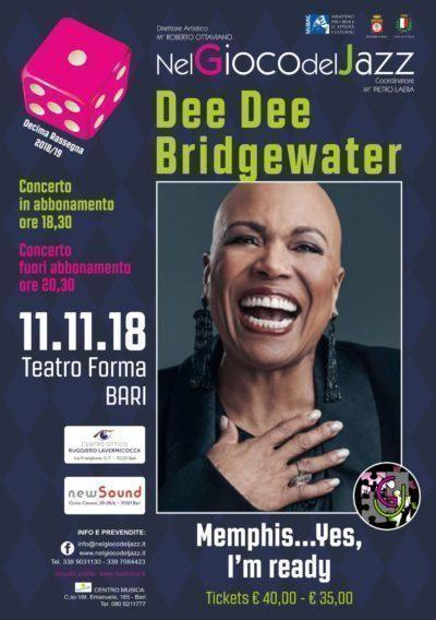 La diva del jazz internazionale in concerto: Dee Dee Bridgewater