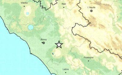 Roma: terremoto magnitudo 3.2 nella notte a est della capitale