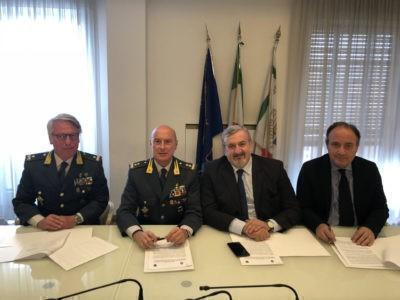 Protocollo d'intesa tra Regione Puglia e Guardia di Finanza