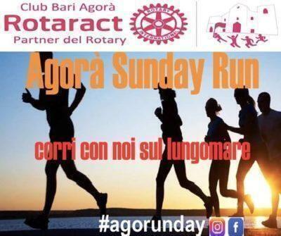 I ragazzi del Rotaract  Bari tornano a correre la domenica