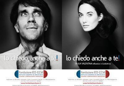 Sessanta volti d'Italia chiedono di sostenere la ricerca
