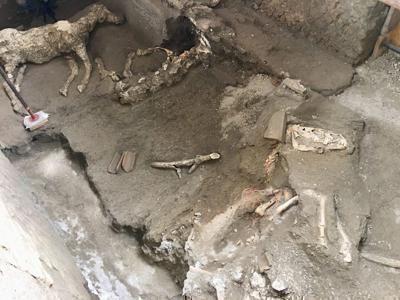 Eccezionale scoperta a Pompei