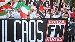 Forza Nuova a Prato per la commemorazione dei Fasci di Combattimento