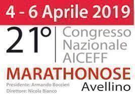 Congresso nazionale Aiceff – Marathonose Avellino