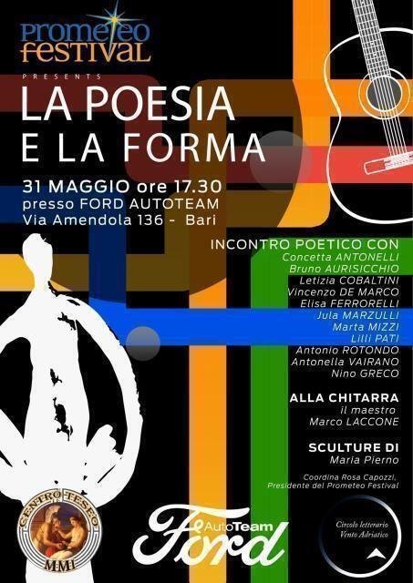 Il Prometeo Festival all'AutoTeam di Bari
