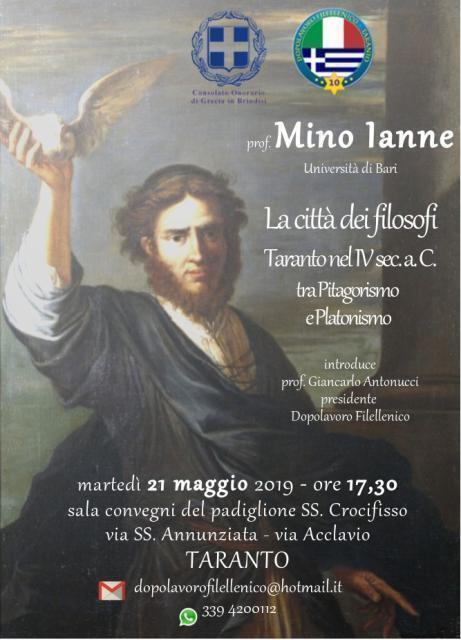 La città dei filosofi – conferenza a Taranto