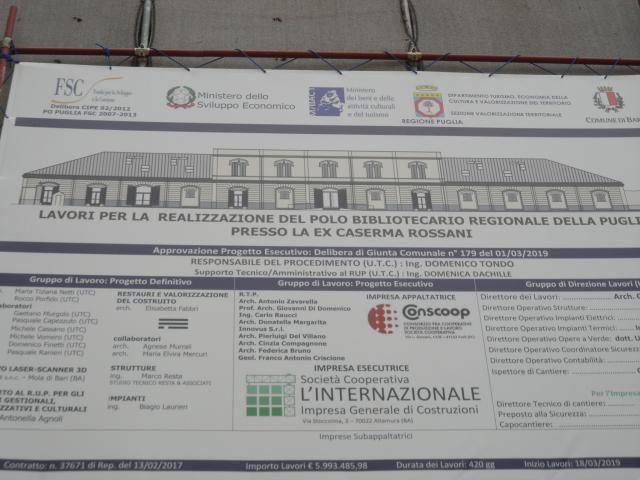 Ex Caserma Rossani riapre alla Città