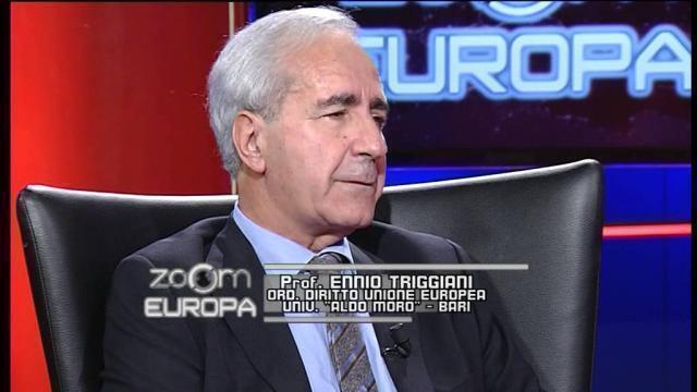 """Ennio Triggiani a Bitetto per """"Europa: quale futuro?"""""""
