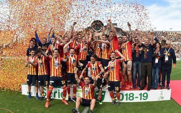 Il Lecce è in Serie A