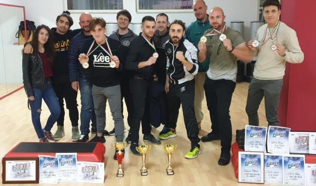 Campionati italiani Fight1, vittoria per gli atleti del Team Casalino