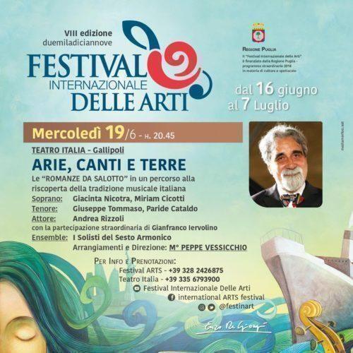 Festival Internazionale delle Arti: premiata Miriam Cicotti
