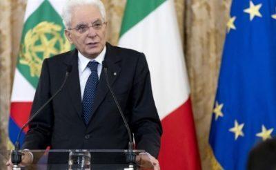 Mattarella. Migranti, la solidarieta' e' un dovere e l'Italia e' in prima linea