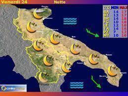 Il Meteo in Puglia e Basilicata