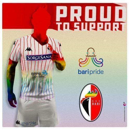 La SSC Bari supporta il Bari Pride