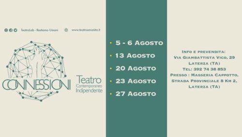 Rassegna Teatrale 2019 a Laterza