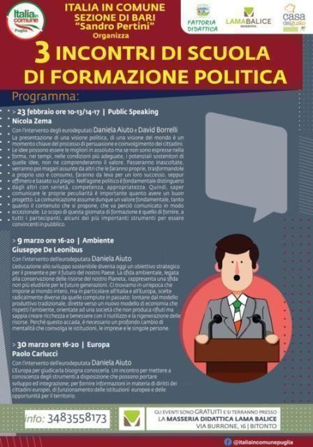 Scuoladiformazionepolitica di Italia in Comune