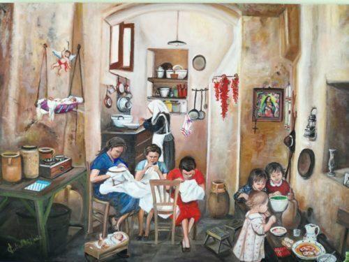 I Sassi raccontanopersonale della pittrice materana Maria Paolicelli