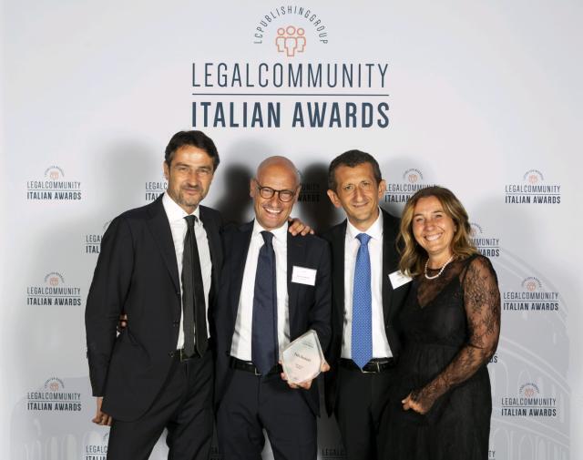 """Polis avvocati """"studio dell'anno corporate Puglia"""""""