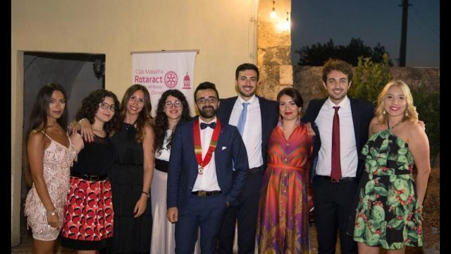 Desiati nuovo presidente del Rotaract Club di Massafra