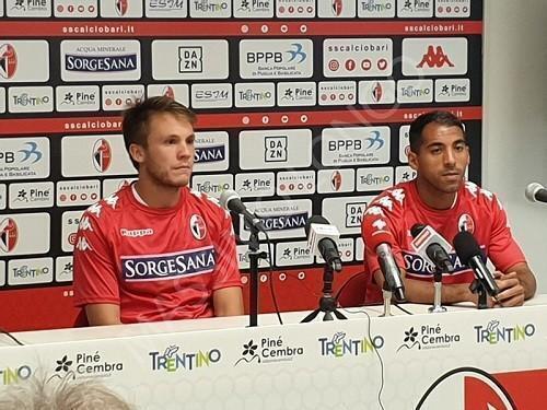 Bari – Hamlili e Terrani in conferenza stampa