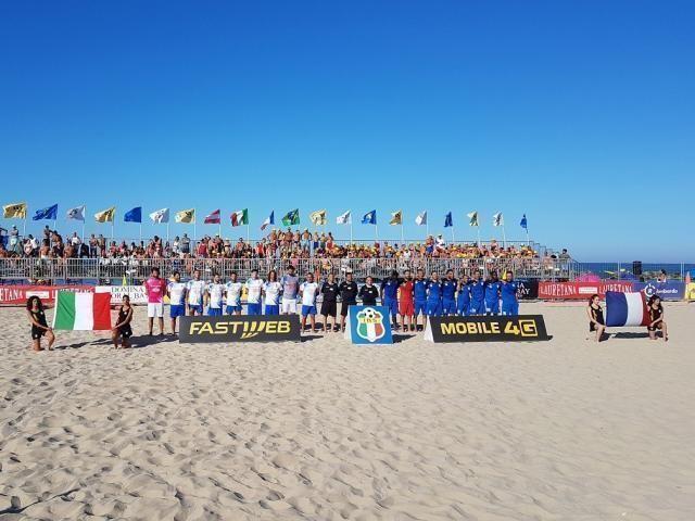 Il Mundial Beach Soccer fa tappa a Marotta