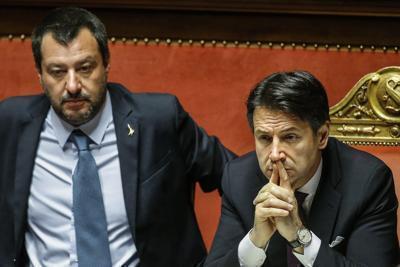 """Conte: """"Fiducia in Salvini"""""""